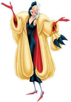 Disney Villains Cruella De Vil | Cruella De Vil