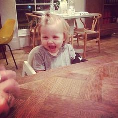awww look at baby lux