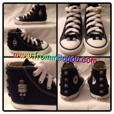 113304802a0b02 Embellished Canvas Shoes  shoes  converse  chucktaylor  lego  kids  boy   robot  grey  blue  dallascowboys  dallas  cowboys  frommitoyou
