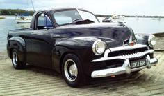 Restored Holden 1953 FJ Ute Vintage Cars, Antique Cars, Meanwhile In Australia, Holden Monaro, Holden Australia, Aussie Muscle Cars, Australian Cars, Old Pickup, Panel Truck