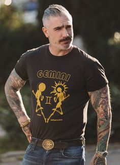 Sheehan & Co. Gemini Zodiac Tee