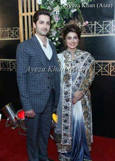 Ayeza Khan <3 & Danish Taimoor <3 At ARY Film Awards