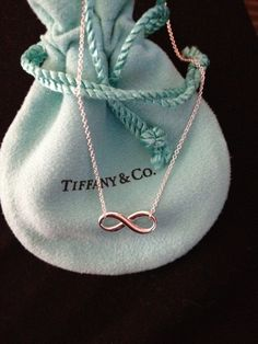 Tiffany and Co infinity bracelet. I need this to go with my infinity necklace. Tiffany Blue, Tiffany And Co, Bling Bling, Moda Outfits, Mode Glamour, My Wallet, To Infinity And Beyond, Double Infinity, What I Want