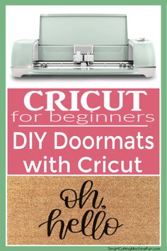DIY Doormats with Cricut | Personalized Doormats with Cricut | Learn from my mistakes how to make doormats with Crictu