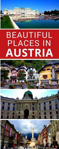 Guest contributor, Barbara, takes us on a tour of the most beautiful places in Austria. From the bustling capital of Vienna to picture-perfect Halstatt, she takes us through the some of the best places to visit in Austria.