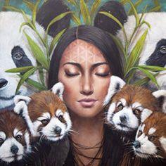 Web Design, Magic Realism, Modern Artists, Mixed Media Canvas, Famous Artists, Female Art, Colored Pencils, Fantasy Art, Artwork