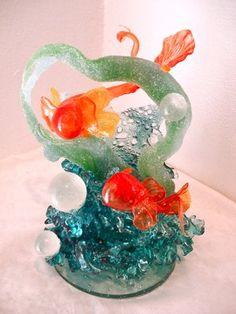 Blown Sugar Sculptures | sugar sculpture | Tumblr