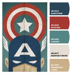 Paint colors from Chip It! by Sherwin-Williams: For E's Room!