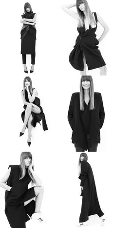 RAD HOURANI — CAROLINE DE MAIGRET PHOTOGRAPHED BY RAD HOURANI IN UNISEX COUTURE