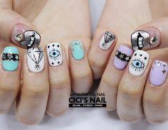 Manicure, Polygel Nails, Love Nails, Hair And Nails, Korean Nail Art, Korean Nails, Japanese Nail Design, Japanese Nails, Super Nails