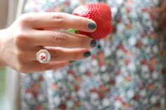 Chérie Cream's cupcake ring  $24
