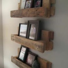 Reclaimed Pallet Shelf