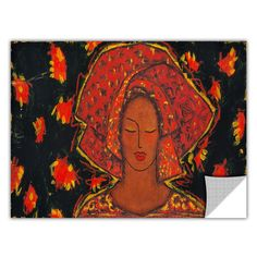 ArtApeelz 'Independent Spirit' by Gloria Rothrock Painting Print on Wrapped Canvas