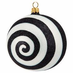 Joy To The World Illusion Ball Ornament at Barneys.com