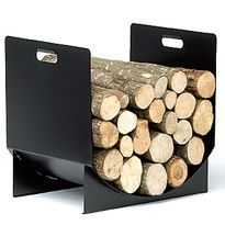 RESERVES A BOIS | Reignoux créations Zara Home, Range Buche, Fire Pit Grill, Metal Fire Pit, Log Store, Chiminea, Log Holder, Firewood Storage, Wood Basket