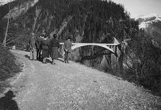 Robert Maillart, Salginatobel Bridge, Switzerland, 1930