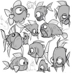 character drawing animals design ideas fish 2019 for 29 29 Ideas Drawing Animals Fish Character Design For 2019 29 Ideas Drawing Animals Fish Character DYou can find Character design animation and more on our website Character Design Inspiration, Character Design, Animal Drawings, Animal Caricature, Fish Drawings, Drawings, Character Design Animation, Cartoon Character Design, Character Design References