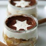 Weihnachtsdessert:+Bratapfel-Tiramisu
