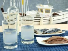 Ouzo This is the most characteristic Greek drink-aperitif. Basically it's alcohol, water, aromatic ingredients and of course anise. It's served neat or with water and ice.