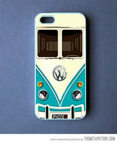 VW van phone case…  OMG WHEN I GET AN IPHONE I AM GETTING THIS