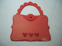 Scalloped Top Note Purse can be a gift card holder or treat bag if desired. Check out the free tutorials at songofmyheartstampers.com