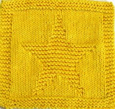 knitted star