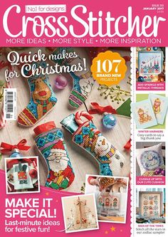 Cross Stitcher magazine issue 313 January 2017