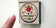 "I think I need this is in my life! -__-    ""A fridge magnet that orders your pizza for you. A push of the button places an order. It makes us yearn for a future filled with intelligent web-connected objects that will mean we never have to leave our couches again.""  -Ad Age  #pizza #foodie #THINKbox"