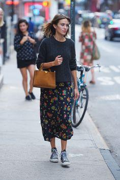 Alexa Chung - In New York City.  (30 August 2015)
