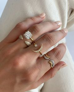 Thin Engagement Rings, Wedding Rings, Diamond Bands, Gold Bands, Baguette Diamond Wedding Band, Gold Everything, Nail Ring, Cushion Cut Diamonds, Dream Ring