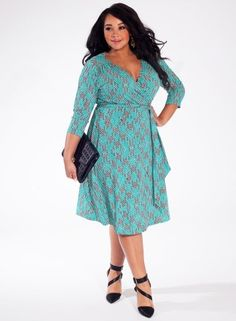 Dominique Dress in Jade Lane