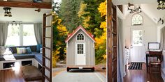 Almost Glamping Tiny House - I really like the feel of this one - something to emulate!