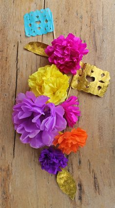 31 crafty flowers day one mexican tissue paper flowers tissue beautiful mexican diy paper flowers and papel picado easy tutorials and templates on happythought mightylinksfo