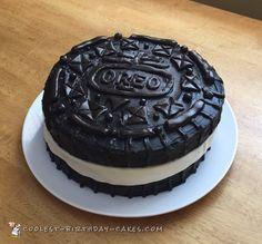 Giant Oreo Cake Spa Birthday PartiesBirthday TreatsCool