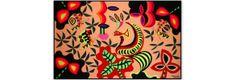 Tapeçaria por Kennedy Bahia 294 x 126 cm - Moderno Brasil