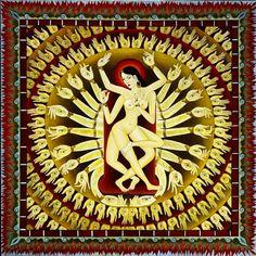 The Realm of the Divine: The Dakini and her Sacred Dance – Fractal Enlightenment Kali Goddess, Mother Goddess, Mother Kali, Indian Goddess, Goddess Art, Buddhist Symbols, Buddhist Art, Tibetan Art, Tibetan Buddhism