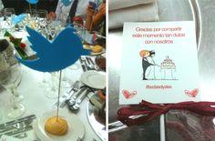 Nuevas oportunidades de negocio: Bodas en Twitter. Imágenes de #bodasolyalex. Fotografía de la izquierda por Jesús Mazcunan (@mazcunan). Fotografía de la derecha por Beatriz Bastidas (@B_e_a_triz_).