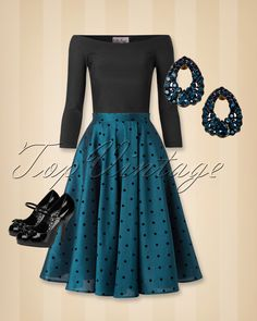 That perfect vintage look for the upcoming party season!