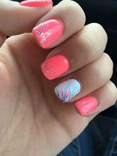 nail art designs for spring / nail art designs ; nail art designs for winter ; nail art designs for spring ; Cute Nail Art Designs, Short Nail Designs, Nail Designs Spring, Toe Nail Designs, Nails Design, Nail Designs For Kids, Shellac Nail Designs, Colorful Nail Designs, Spring Nail Art