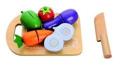 Lekemat i tre - Grønnsaksbrett