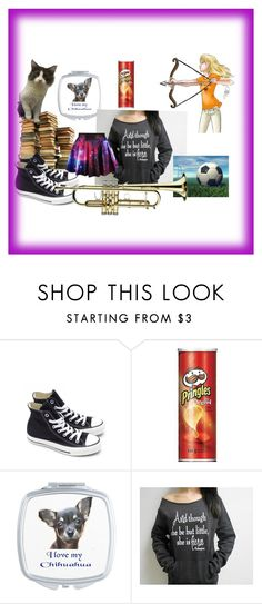 """""""And though she may be small she is bossy!"""" by stay-strongforever ❤ liked on Polyvore featuring Converse and Mambo"""