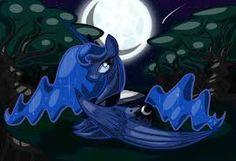Resultado de imagen para My little pony la princesa luna alzando la luna