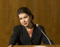 Carmen M. Reinhart (Harvard); enters #50 in August 2012, expert on financial crises - the first woman on this list.