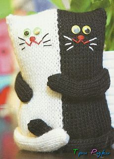 Crochet cat pillow pattern 48 Ideas for 2019 Chat Crochet, Crochet Cat Toys, Knitted Cat, Knitted Dolls, Crochet Home, Crochet Baby, Baby Knitting Patterns, Loom Knitting, Crochet Patterns
