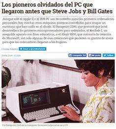 Los pioneros olvidados del PC que llegaron antes que Steve Jobs y Bill Gates / @hojaderouter | #futuruma