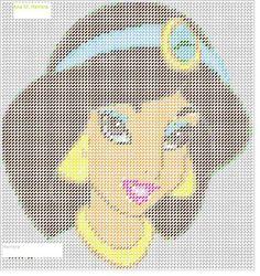 Jasmine in Plastic Canvas