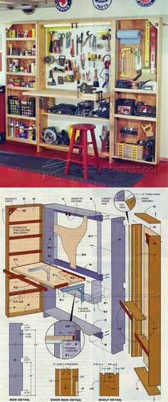 Folding Workshop Plans - Workshop Solutions Projects, Tips and Tricks | WoodArchivist.com