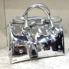 Metallic bag by @JilSanderpr #JilSander #bag #metallic #FolliFollie #FW14collection