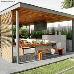 Arquitectura de Casas: Modelos de quinchos para asados.