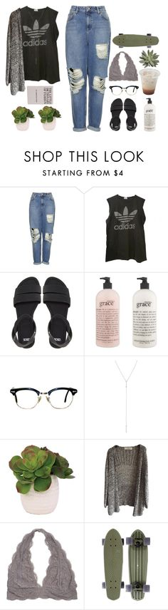 """""""❤someday youre gonna see the things that i see...❤"""" by xn3bula-dreamer182x ❤ liked on Polyvore featuring Topshop, adidas, ASOS, philosophy and Lux-Art Silks"""